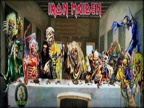 Iron Maiden wallpaper probably with anime entitled ☆ Iron Maiden ☆