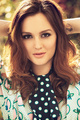 → Leighton Meester: Glamour Espana