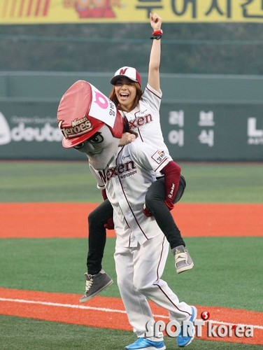 Nexen Baseball opening game