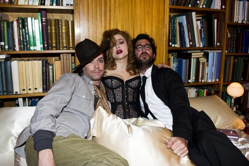 """Out of the Game"" - Behind the Scenes - helena-bonham-carter Photo"