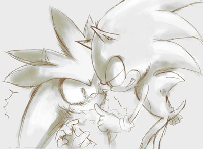Sonic Yaoi karatasi la kupamba ukuta containing a bouquet and a rose called .:Sonilver:. ~<3
