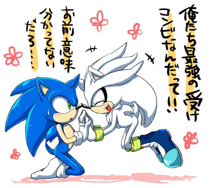 Sonic and Shadow Yaoi http://www.fanpop.com/clubs/sonic-yaoi/images/30682985/title/sonilver-3-photo