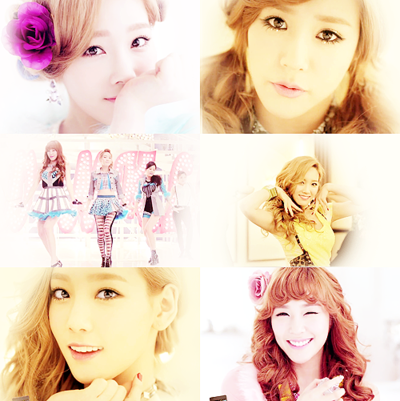 ♥Taeyeon and Tiffany Twinkle!