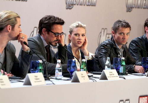 'The Avengers' in Moscow - robert-downey-jr Photo