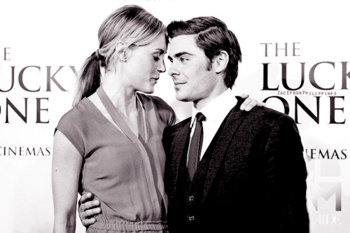 → the lucky one;
