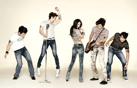 2AM and Song Ji Hyo for Jambangee Spring 2011 Catalogue