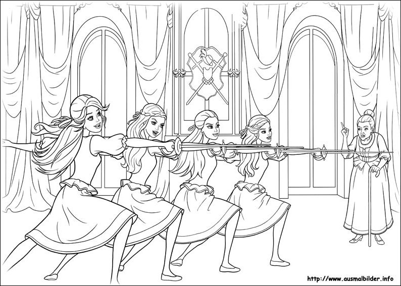 barbie coloring pages 2006 - photo#25