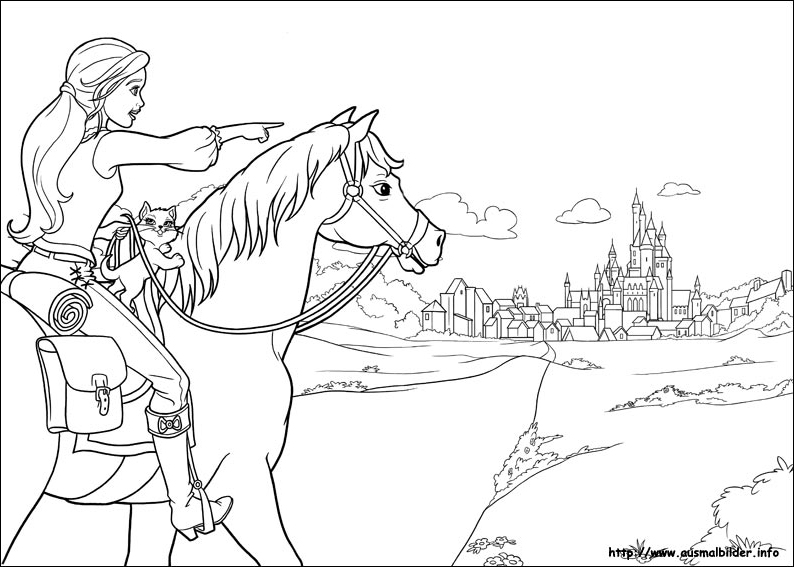 Coloring Pages Barbie Three Musketeers : Ms coloring page barbie and the three musketeers photo