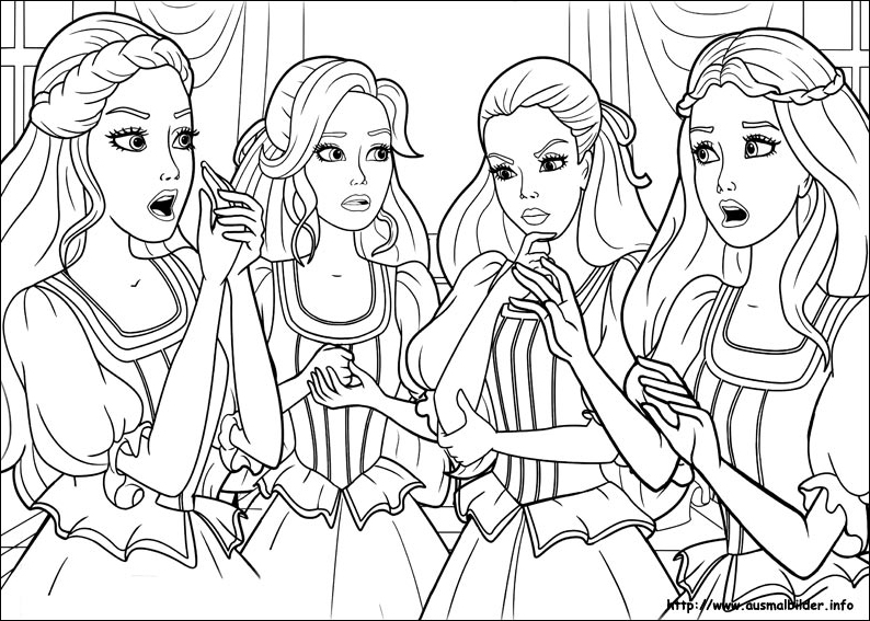 barbie coloring pages 2006 - photo#26