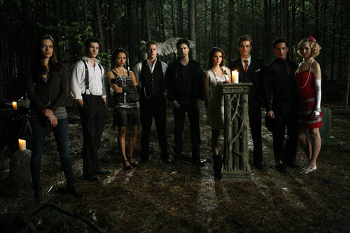 3x20 behind the Scenes - the-vampire-diaries Photo
