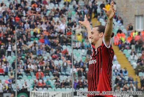 AC Siena VS AC Milan 1-4, Serie A TIM 2011/12