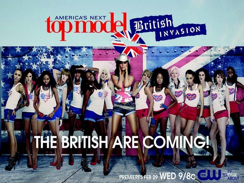 ANTM british invasion - americas-next-top-model Wallpaper