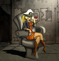 Admiral Lindsay her hotness - total-drama-island fan art