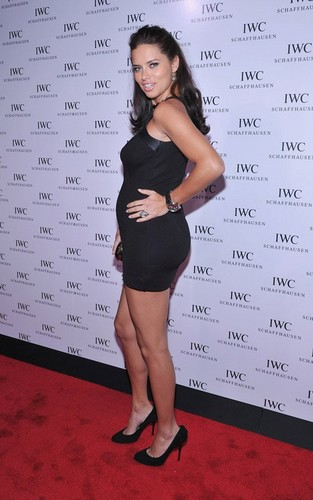 Adriana in IWC Flagship Boutique New York City Grand Opening