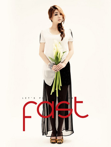 Ailee for 'Fast' magazine