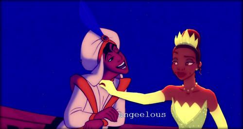 Aladdin&Tiana♥.