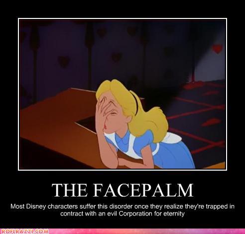 Alice Facepalm 移動する