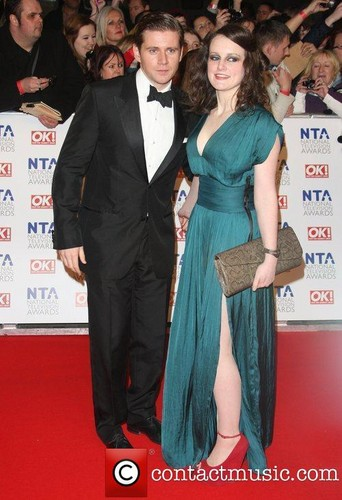 Allen Leech and Sophie McShera attend the National टेलीविज़न Awards 2012 <3