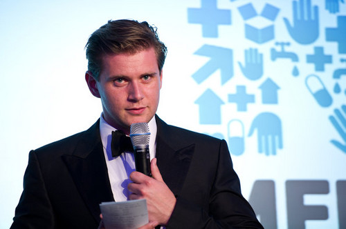 Allen Leech The Medical Relief Charity <3