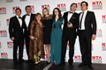 Allen Leech and the Downton Abbey Cast- The National Television Awards 2012 <3