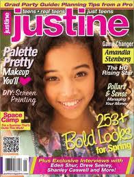 Amandla Stenberg on Justine cover