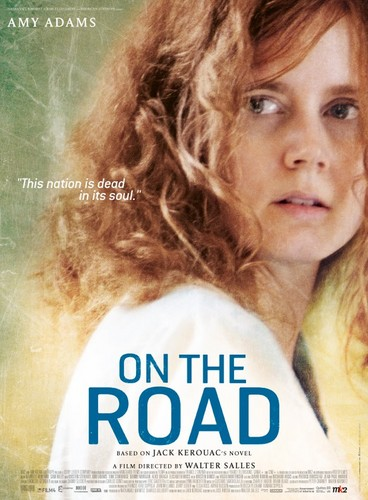 On the Road (Movie) wallpaper with a portrait entitled Amy Adams is Jane a.k.a. Joan Vollmer