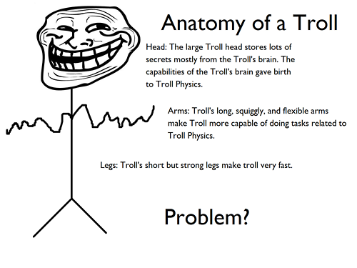 Anatomy of a Troll
