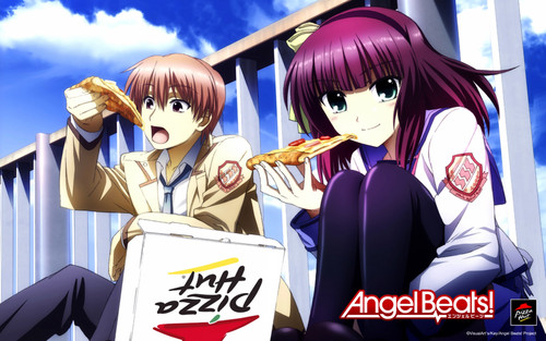 animê wallpaper containing animê called angel Beats
