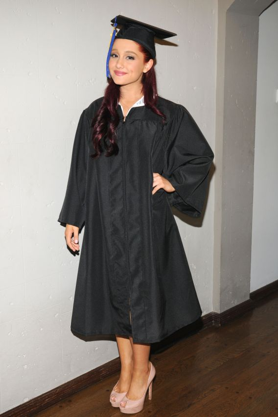 Ariana Grande Graduates High School!
