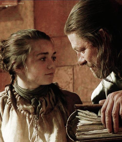 Arya & Ned Stark
