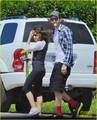 Ashton Kutcher & Mila Kunis: Weekend Getaway - First Pics - ashton-kutcher photo