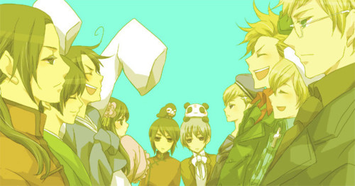Asians vs. Nordics - my-hetalia-family-rp