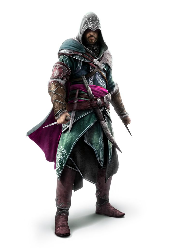 Assassin S Creed Main Assassin Characters Assassin S Creed