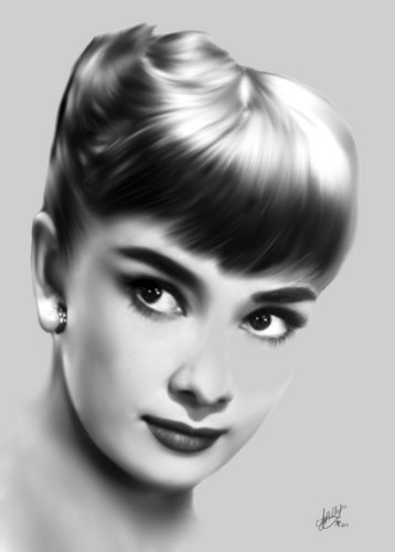 Audrey Hepburn fan Art
