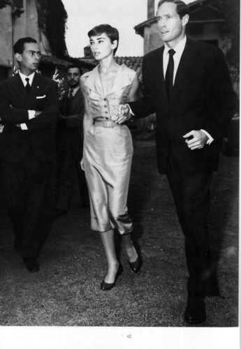 Audrey and Mel Ferrer