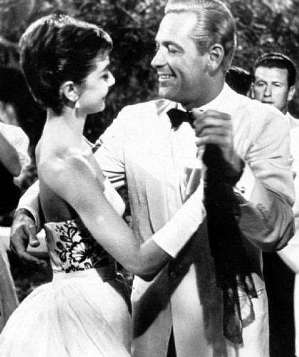 Audrey and William Holden in Sabrina