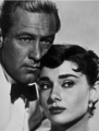 Audrey and William Holden in Sabrina - sabrina-1954 photo