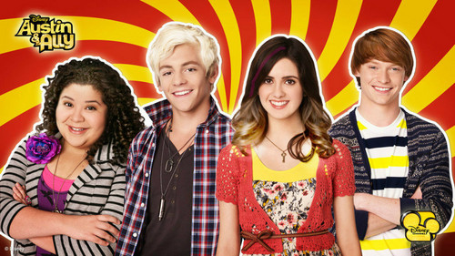 AustinAndAllyCastWithLighterHair (Edited by BuzzHi) - austin-and-ally Photo