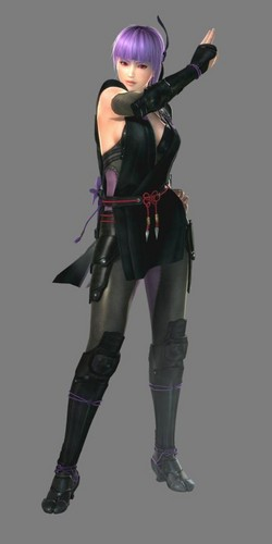 Ayane render in DOA5