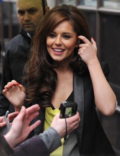 BBC Radio 1 Studios In London [25 April 2012] - cheryl-cole Photo