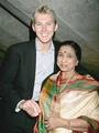 BRETT WITH LATA - cricket-world photo