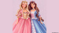 Barbie as the Princess and the Pauper karatasi la kupamba ukuta