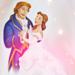 Beauty & the Beast - Wedding ~ ♥ - disney-princess icon