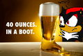 Beer-filled boots confuse Shadow :P - shadow-the-hedgehog photo
