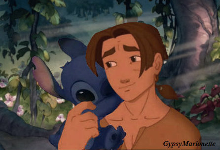 Best Friends: Jim and Stitch