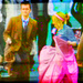 Billie with David Tennant   - billie-piper icon