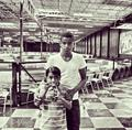 Blanket Jackson and his cousin Jaafar Jackson - michael-jackson photo