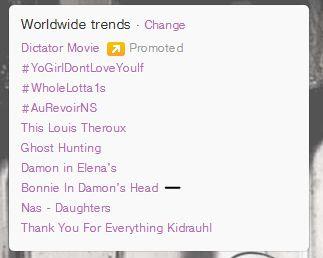 Bonnie in Damon's Head Trending World Wide