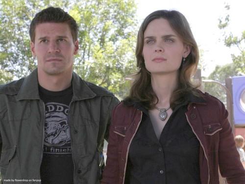 Booth and Bones fond d'écran