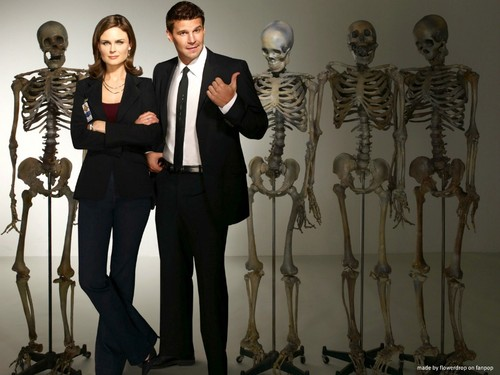 Booth and Bones wallpaper with a business suit entitled Booth and Bones Wallpaper